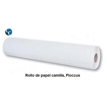 """Rollo Papel Camilla Blanco """"ANÓNIMO"""""""