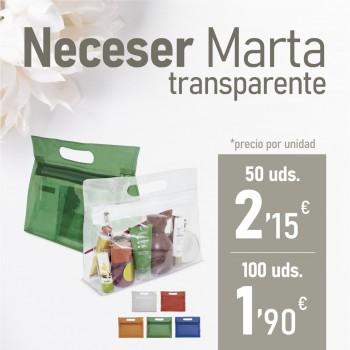 "Neceser ""Marta"" Transparente"