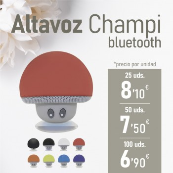 "CATALOGO BBC Altavoz ""Champi"" Bluetooth"
