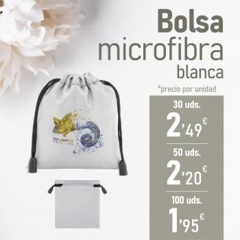 CATALOGO BBC Bolsa microfibra blanca
