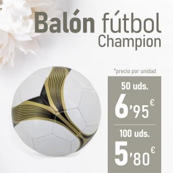 CATALOGO BBC Balón Fútbol Champion