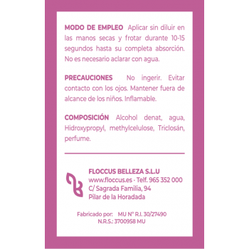 011 Gel Hidroalcohólico Monodosis 1 mL PILBELLES