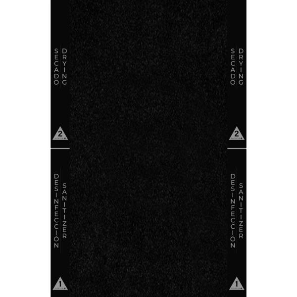 045 Alfombra Basic Home Desinfección Suelas Calzado 60x80