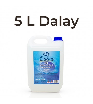Gel Hidroalcohólico Dalay 5L - Caja...