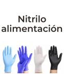 Guante de Nitrilo Alimentación y Limpieza 3,5g | Pack con 100 Uds.